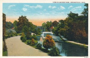 Springfield, Ohio - View in Snyder Park - WB