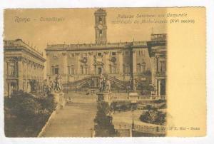 Campidoglio / Palazzo Senatorio Comunale Michelangelo,Roma,Italy 1900-10s