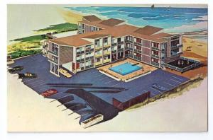Hobo Beach Motel Rehobeth Dewey Beach DE ca. 1975 Chrome