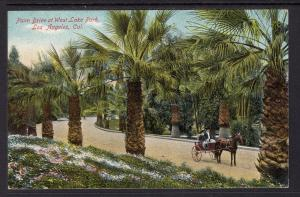 Palm Drive at West Lake Park,Los Angeles,CA