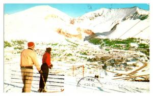 1961 Climax Molybdenum Mine from Climax Ski Hill, CO Postcard *5N9