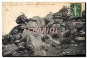 Old Postcard En Morvan Uchon Les Roches Carnival