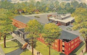 Watertown New York~Carriage House Motor Inn~Artist Conception~1950s Postcard