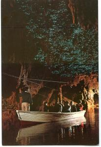 Waitomo Caves, Glow-worm Grotto, New Zealand unused Postcard