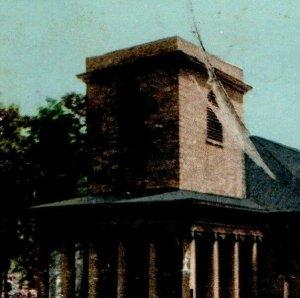 1900 King's Chapel Post Card Boston Massachusetts Detroit Photographic Back Bay
