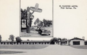 HIGH SPRINGS, Florida, 1940-60s; El Rancho Motel