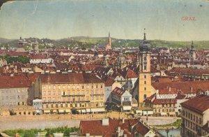 pc4978 postcard Graz Austria postally used 1920 no stamp