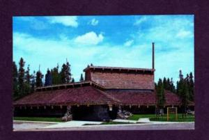 MT Latter Day Saints Mormon Chapel YELLOWSTONE MONTANA