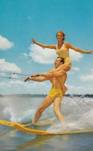 Water-Skiing , 1950-60s
