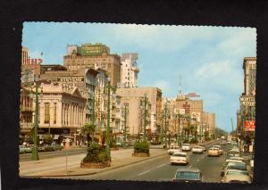 LA Canal St Hotel Roosevelt Stevens Clothes Store New Orleans LOUISIANA Postcard