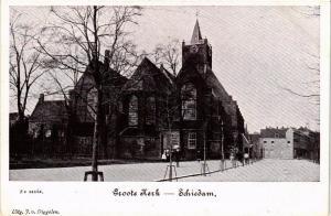 CPA SCHIEDAM Groote Kerk NETHERLANDS (602151)