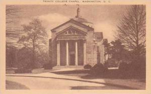 Washington DC Trinity College Chapel Artvue