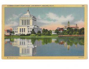Alameda County Court House Lake Merritt Oakland California