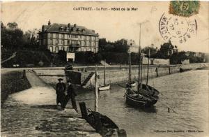 CPA Carteret - Le Port - Hotel de la Mer (632858)
