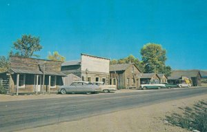 NEVADA CITY, Montana, 1950-1960's; Wood Street looking South