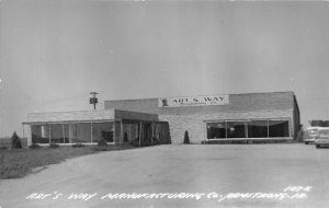 G33/ Armstrong Iowa RPPC Postcard c1950s Art's Way Manufacturing