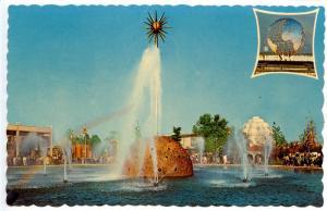 NY - New York World's Fair 1964-65. The Solar Fountain