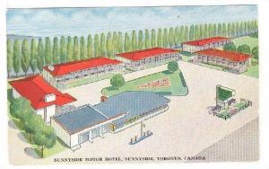 Sunnyside Motor Hotel, Sunnyside,  Toronto, Ontario, Canada,  40-60s