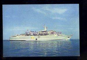 FE3304 - Norwegian Kloster Ferry - Sunward , built 1966 - postcard