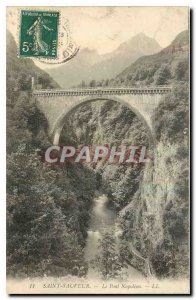 Postcard Old Saint Savior Bridge Napoleon