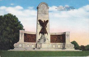 Mississippi Vicksburg Missouri Monument National Military Park