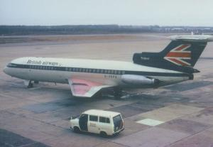 Trident 1 G-ARPG Plane in 1975 Milan Italy Airport Limited Edition 300 Postcard