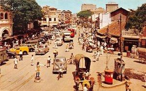 Street Scene Pettah Colombo Ceylon, Ceylan Unused
