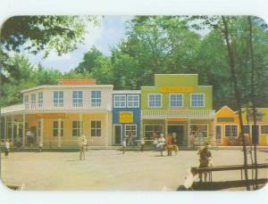 Unused Pre-1980 SHOPS AND PALACE HOTEL Old Forge New York NY hr4188