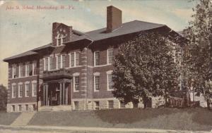 MARTINSBURG , West Virginia , PU-1911 , John Street School