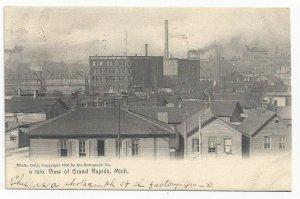 View of Grand Rapids, Michigan, PU-1909