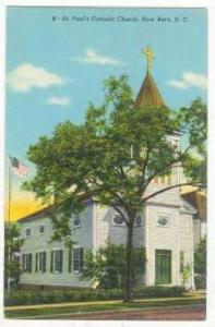 St. Paul's Catholic Church, New Bern, North Carolina, 20-40s