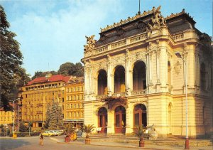 B110420 Czech R. Karlovy Vary Vitezslav Nezval Theater