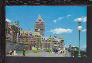 Dufferin Terrace,Quebec,Quebec,Canada Postcard BIN