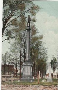 Batavia NY, New York - Morgan Monument - DB - 1910