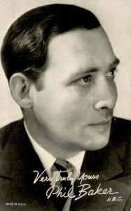 Phil Baker Autograph