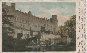 Postal castillos numero 037: Warwick Castle