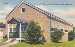 Pennsylvania Dallas St Joseph's Cottage College Misericordia