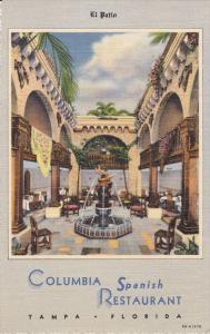 Columbia Spanish Restaurant , TAMPA , Florida , 30-40s