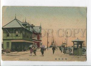 3086007 JAPAN Yokohama Pier Vintage tinted PC
