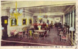 TEA ROOM, KING EDWARD HOTEL, TORONTO CANADA 1927