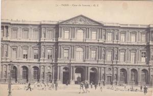 Cour du Louvre, G.I., Paris, France, 00-10s