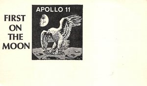First on the moon, Apollo 11 Space Unused
