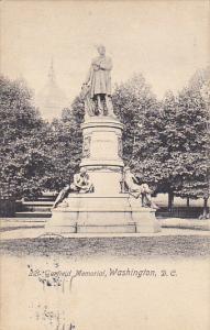 Garfield Memorial Washington DC Rotograph 1913