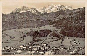 WERFEN AUSTRIA~EISRIESENWELT SEGEN HOCKKONIG 1936 PHOTO POSTCARD