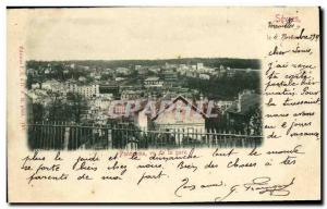 Old Postcard Sevres Panorama seen from the station