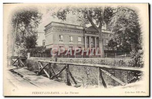 Old Postcard Vernet les Bains Les Thermes