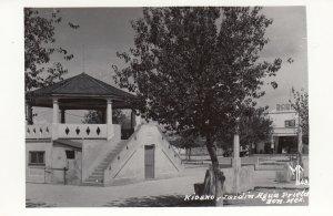RP: Kiosna y Jardin , Agua Prieta , Son. , Mexico , 1930-40s
