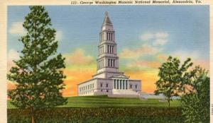 VA - Alexandria, George Washington Masonic National Memorial