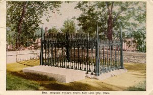 UT - Salt Lake City. Brigham Young's Grave