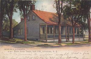 Black Horse Tavern, built 1781, JOHNSTOWN, New York, PU-1906